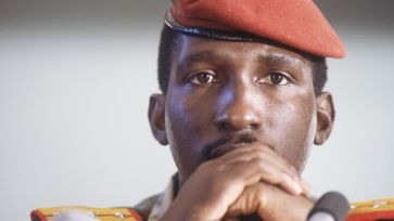 Comrade Sankara of Burkina Faso