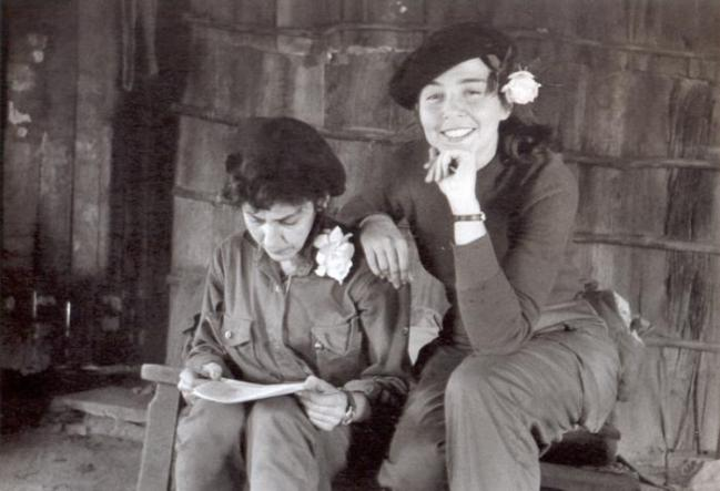 Comrade Vilma Espín of the Cuban Revolution.